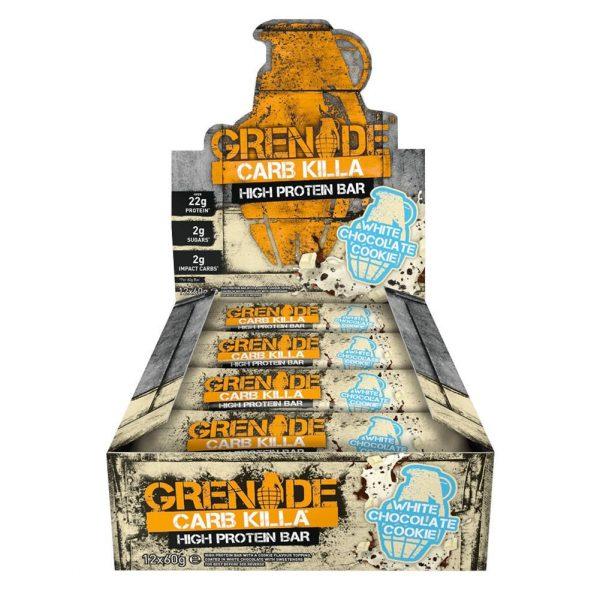 Grenade Carb Killa (Box) White Chocolate Cookie