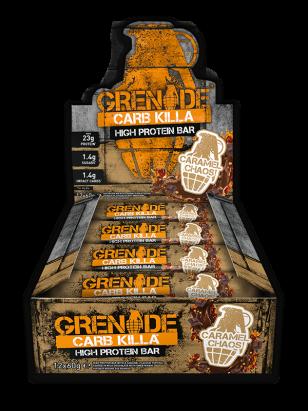 Grenade Carb Killa (Box) Caramel Chaos