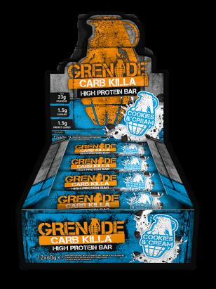 Grenade Carb Killa (Box) Cookies and Cream