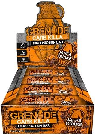 Grenade Carb Killa (Box) Jaffa Cake